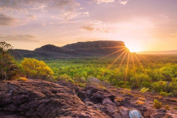 Australia: amanecer en Kakadu