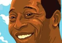 Pelé en cómic «El rey Pelé, el hombre y la leyenda»
