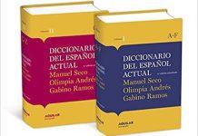Diccionario español actual Seco
