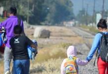 UNICEF Niños migrantes en México.