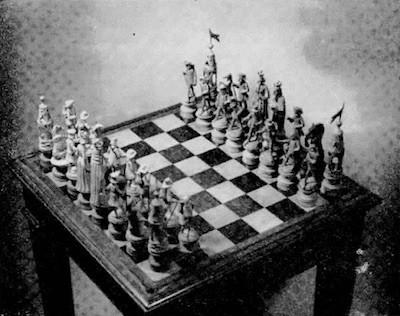 Machado de Assis tablero ajedrez