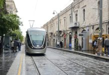 Jerusalen tren ligero