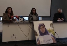 Movimiento Sahara Euskadi en apoyo de los periodistas de Equipe Media