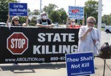 Activistas por la abolición de la pena de muerte en Arkansas