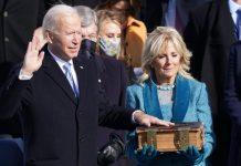 Joe Biden presta juramento como presidente de EEUU