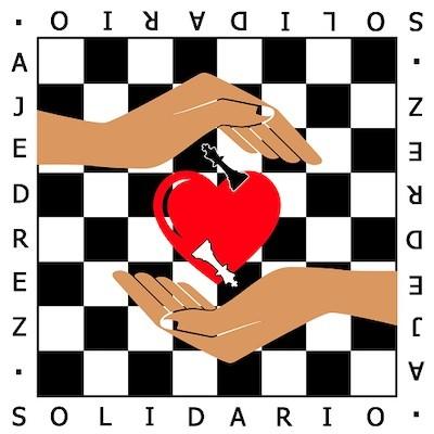 logo ajedrez solidario