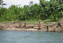 Los mashco-piros son solo una de las 20 tribus no contactadas que viven en Perú. © G. Galli / uncontactedtribes.org