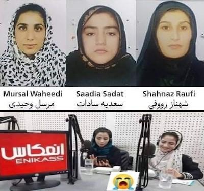 periodistas afganas asesinadas
