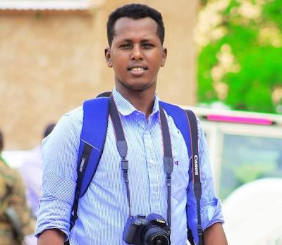 Periodista somalí Ahmed Botan Arab