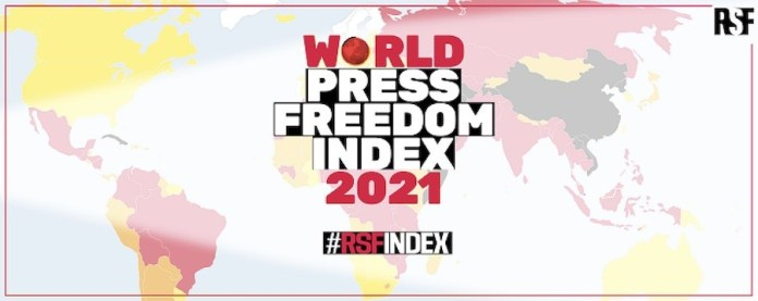 RSF indice 2021