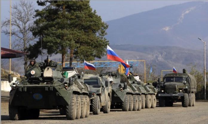 Tropas rusas de intermediación en Nagorno-Karabaj