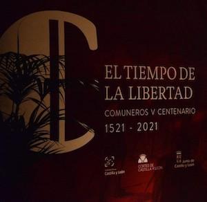 Comuneros cartel Tiempos de libertad