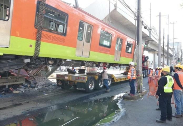Metro de México, tramo de la línea 12 hundida el 3 de mayo 2021
