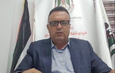 Naser Abubaker, presidente del Sindicato de Periodistas Palestinos. 27MAY2021