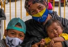 ACNUR © Ilaria Rapido Ragozzino: Más de 5,6 millones de venezolanos han abandonado su país, la mayoría hacia países de América Latina y el Caribe