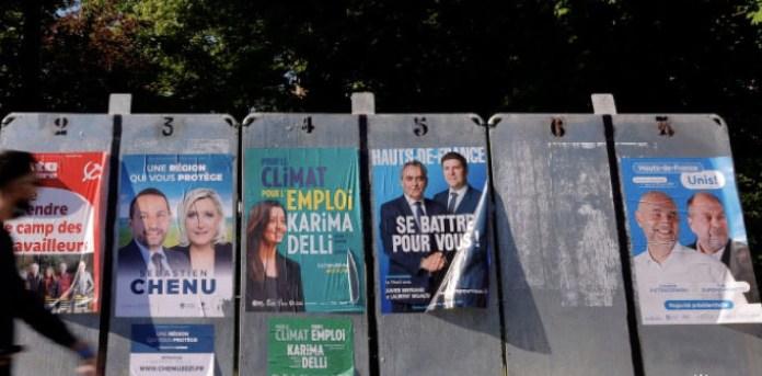 Elecciones regionales Francia 20JUN2021