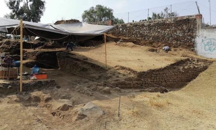 Pirámide de Tlalmanalco, primeros vestigios