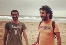 Imad Stitou (izquierda) y Omar Radi, en una imagen de 2019 en una red social.