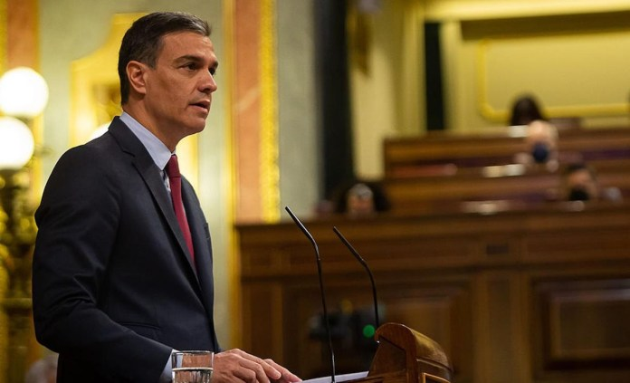 Pedro Sánchez Congreso 30JUN2021