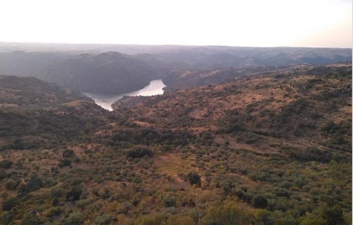 Arribes del Duero entre España y Portugal