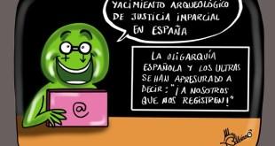 Justicia española equilibrada.