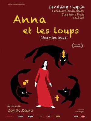Ana y los lobos, cartel francés
