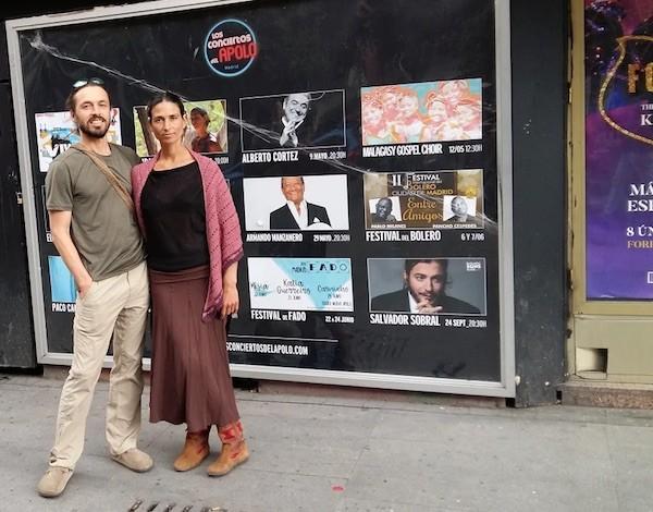 Angélika y Markus teatro Nuevo Apolo Madrid