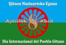 Bandera del pueblo gitano
