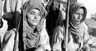 Bloncourt, mujeres armadas del Polisario