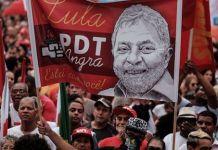 Manifestaciones en apoyo a Lula da Silva en Brasil