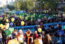 COP21: marcha por el clima en Madrid