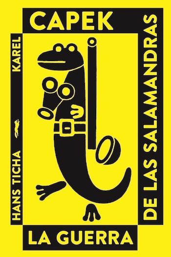 Capek salamandras portada