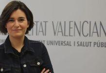 Carmen Monton en su etapa de consejera de Salud en Valencia