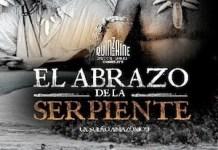 """Cartel de la película """"El abrazo de la serpiente"""", del director colombiano Ciro Guerra."""