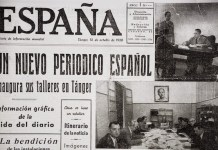 Portada del número cero de España