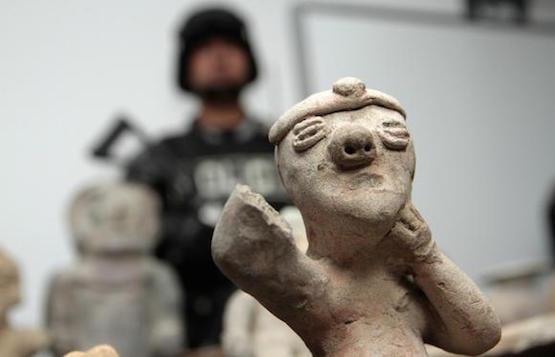 La Procuraduría de Ecuador informó que logró recupera 115 piezas arqueológicas tras un juicio en Chile. Foto: Andes/Archivo