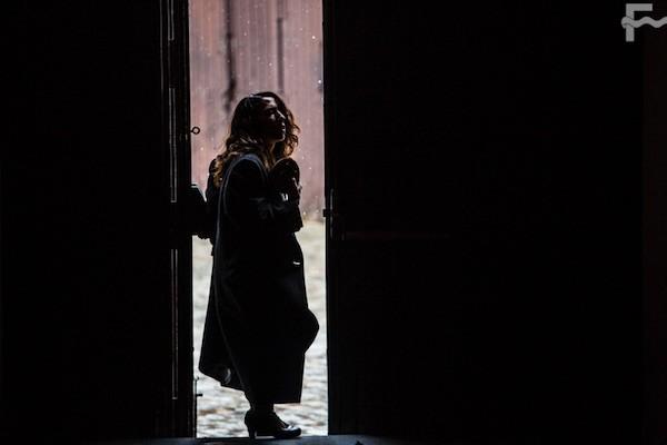 Ana Morales en su adios. FOT: Javier Fergo