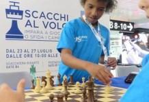 Fiumicino Roma ajedrez en el vuelo