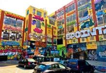 Graffitis en Five Points, NY