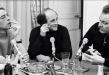 Georges Brassens, Léo Ferré y Jacques Brel