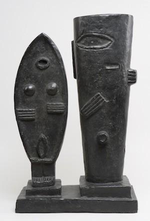 La pareja. 1927. Bronce.© Alberto Giacometti Estate / VEGAP, 2015