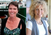 Bunny McDiarmid y Jennifer Morgan, codirectoras de Greenpeace desde abril de 2016