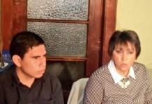 Ileana Alamilla, coordinadora del Observatorio de los Periodistas de Cerigua, en la presentación del informe
