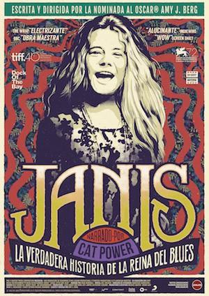 Janis, poster del documental de Amy Berg