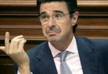 José Manuel Soria, exministro de Industria de España