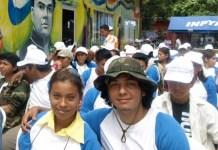 Jovenes en un acto de lanzamiento de un programa de juventud, migración y empleo Foto: PNUD Nicaragua