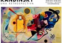 Cartel de la exposición sobre Kandinsky en el Centro Cibeles de Madrid