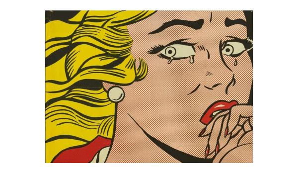 Roy Lichestein. Chica llorando, 1963.