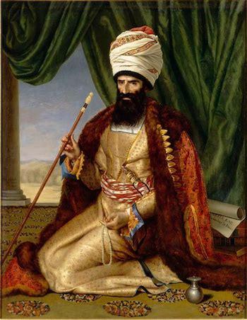 Césarine Davin. Portrait d'Asker-Khan, ambassadeur d'Iran  France, Paris, 1809. Huile sur toile. Versailles, musée du Château de Versailles et du Trianon. © RMN-GP (Château de Versailles) / Gérard Blot