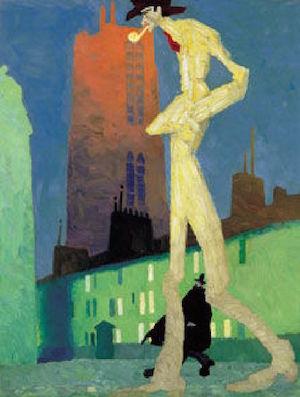 Lyonel Feininger, proyecto Nosotras, día Int. de la Mujer. Museo Thyssen Bornemisza.